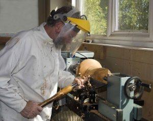 Peter Castle, wood turner